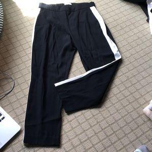 Babaton Straight leg black trousers